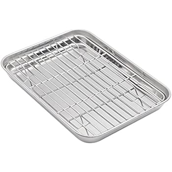 Amazon Com Aspire Baking Sheet With Rack Set Stainless
