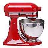 KitchenAid KSM100PSER Ultra Power Plus Stand Mixer, Empire Red