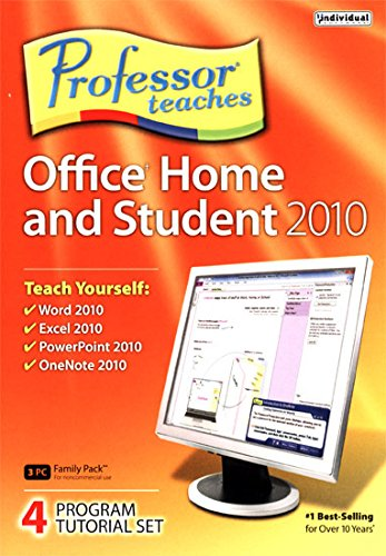 Individual Software Professor Teaches Office Home and Stu...