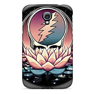 Perfect Hard Phone Cases For Samsung Galaxy S4 With Allow Personal Design Lifelike Grateful Dead Band Pattern AlainTanielian