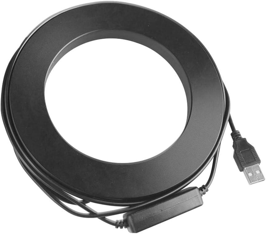 Powerfulline Dimmable LED Lighting Ring Makeup Flash Light Lamp Phone Camera Selfie Tripod