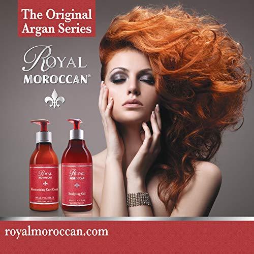Royal Moroccan Formula – Moisturizing Curl Cream 500 ml – Base of Moroccan Argan oil, For color Treated Hair