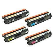 Toner Clinic ® TC-TN315 4PK Compatible Laser Toner Cartridge Set for Brother TN-315 TN-315BK Black TN-315C Cyan TN-315M Magenta TN-315Y Yellow Compatible With Brother HL-4150CDN HL-4570 HL-4570CDW HL-4570CDWT MFC-9460CDN MFC-9560CDW MFC-9970CDW