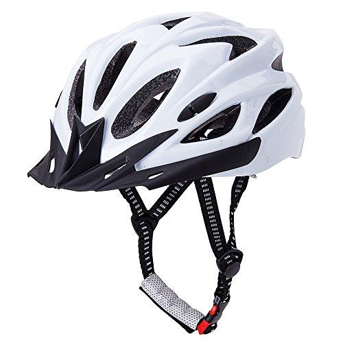 CCTRO Adult Cycling Bike Helmet, Eco-Friendly Adjustable Trinity Men Women Mountain Bicycle Road Bike Helmet Safety Protection