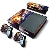 ZoomHit Xbox One Console Skin Decal Sticker Battlefield 1 + 2 Controller & Kinect Skins Set … For Sale