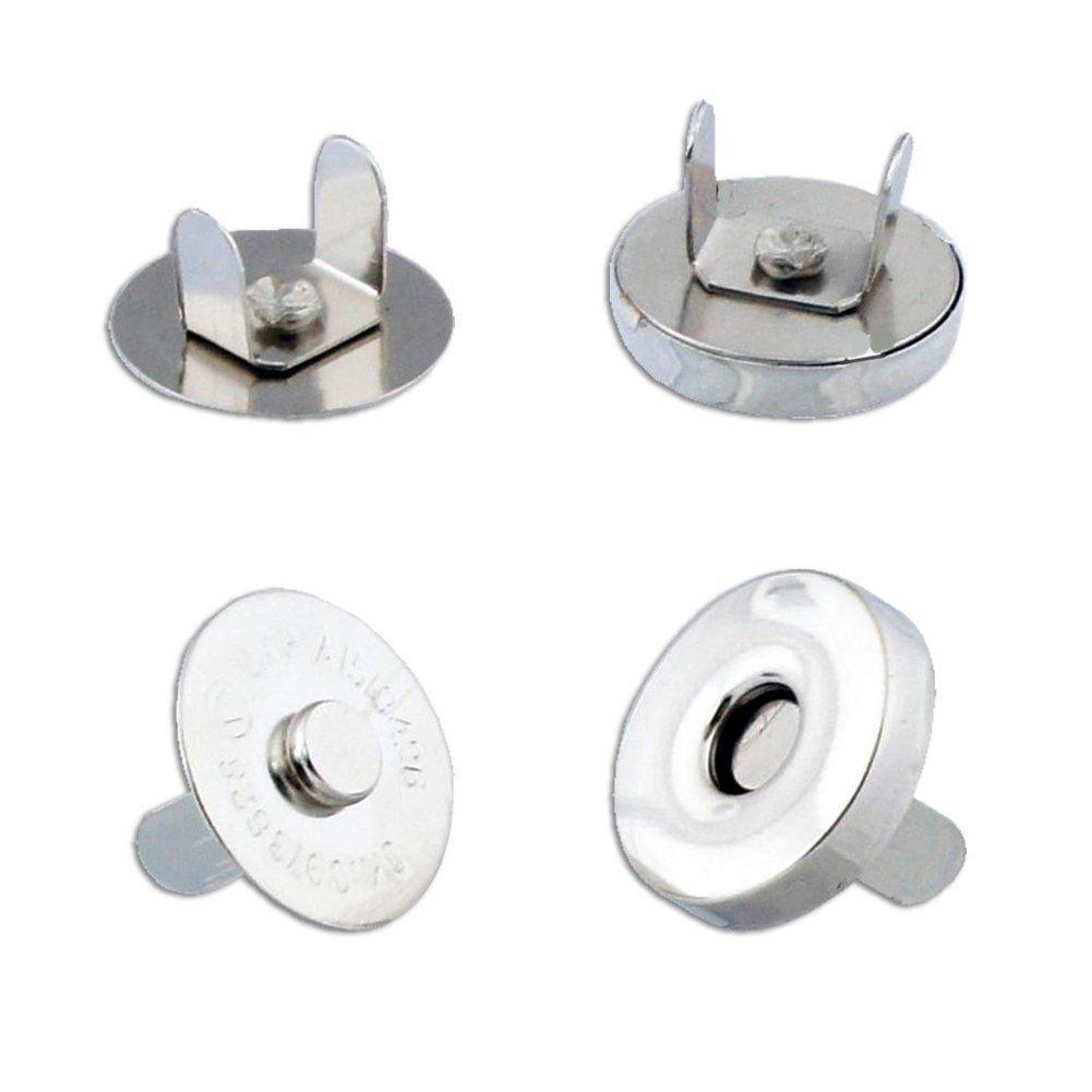 JUNGEN 10PCS 14 mm Cierres Magnético DIY Botón Magnético para Monedero, Ropa, Bolsos, Manualidades