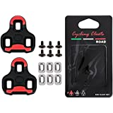 SPD Cleats Pedals,SPD SL cleats for shimano 6 Degree Float SPD cleats adapter,LOOK Delta 9 Degree Float KEO Grip Road Cleat,SPD SL cleats for cycling shoes ,Indoor Cycling,Mtb,spinning,Take Now!
