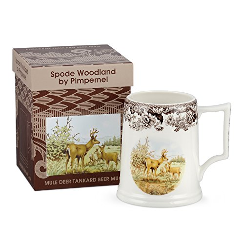 Mule Deer Tankard Beer Glass product image