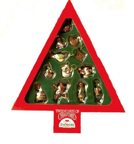 Jim Shore Heartwood Creek - Twelve Days Of Christmas Ornaments by Enesco -  4002426 - Jim Shore Heartwood Creek - Twelve Days Of Christmas Ornaments By