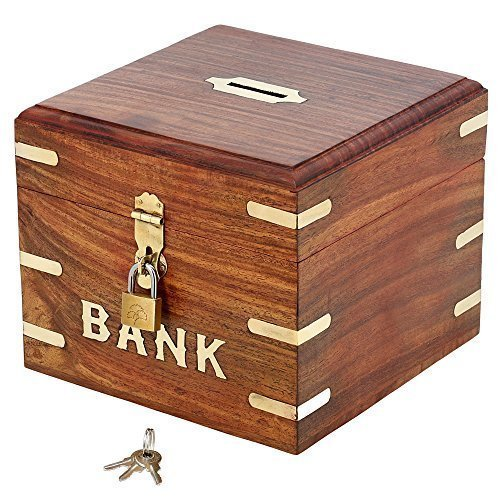 Indian Coin Bank Money Saving Box
