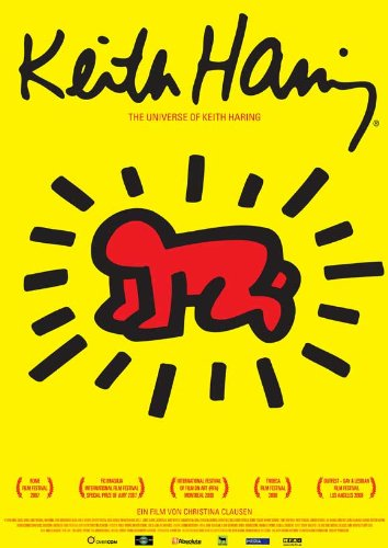 The Universe of Keith Haring 11 x 17 Movie Poster - German Style A