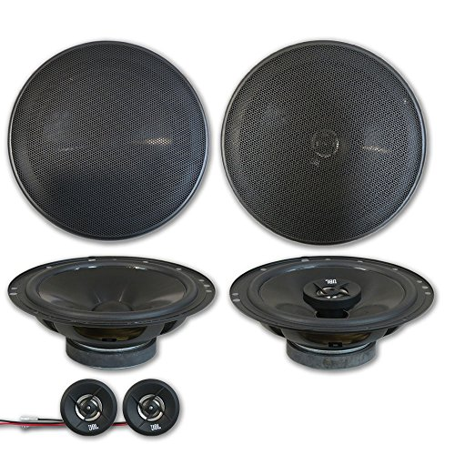 JBL Stage 6.5″ 2-way Car Component system + 6.75″ 2-way coaxial speakers (Pair)