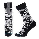 STANCE Smokescreen 200 Needle Socks Black M545C16SMO-BLK