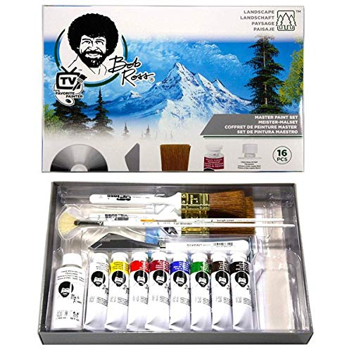 - Martin/F. Weber Bob Ross Master Paint Set