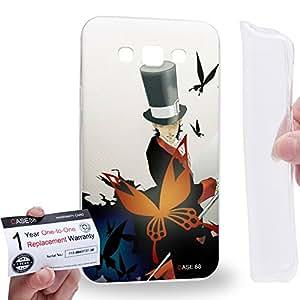 Case88 [Samsung Galaxy E7] Gel TPU Carcasa/Funda & Tarjeta de garantía - D.Gray-man 3rd Noah Tyki Mikk 2062