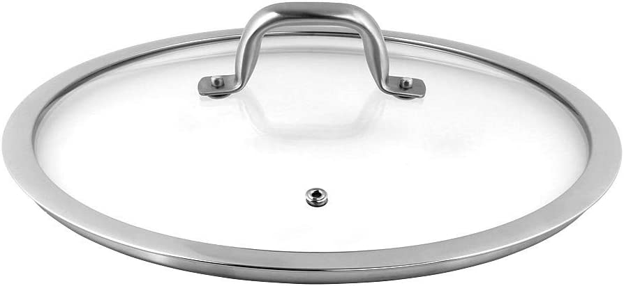 Duxtop Cookware Glass Replacement Lid (8 Inches)