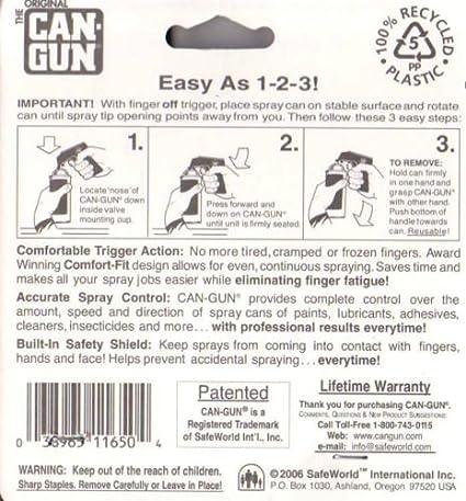 Can Spray Handle Large Trigger For All Can Gun Aerosol Spray Sizes - USA - - Amazon.com