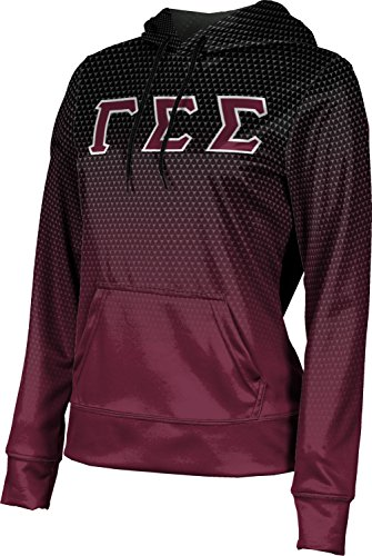 [ProSphere Women's Gamma Sigma Sigma Zoom Pullover Hoodie (XX-Large)] (Miami Vice Outfits)