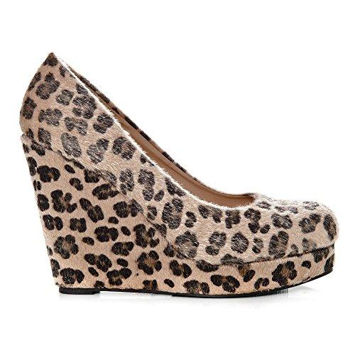 Diva Diva Miss Plataforma Mujer Leopardo Mujer Leopardo Miss Miss Plataforma Yx5ZUv