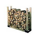 HY-C SLRK Heavy Duty Steel Adjustable Fire Wood Log Rack Bracket Kit by Hy-C