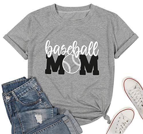 Baseball Tshirt Womens Mom