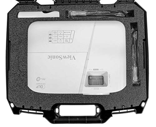 ViewSonic Compatible PA503X Case Club Projector Carrying Case by Case Club (Image #1)