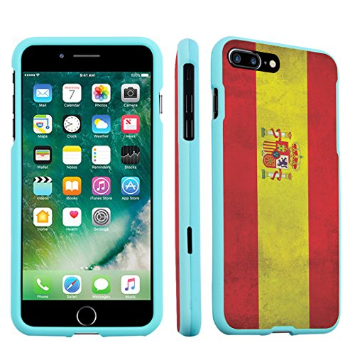 iPhone 7 Plus Case, DuroCase Hard Case Mint for Apple iPhone 7 PLUS (Released in 2016) - - Spain Tiffanys