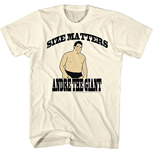 Andre The Giant WWE Size Adult T-Shirt Tee by 2Bhip