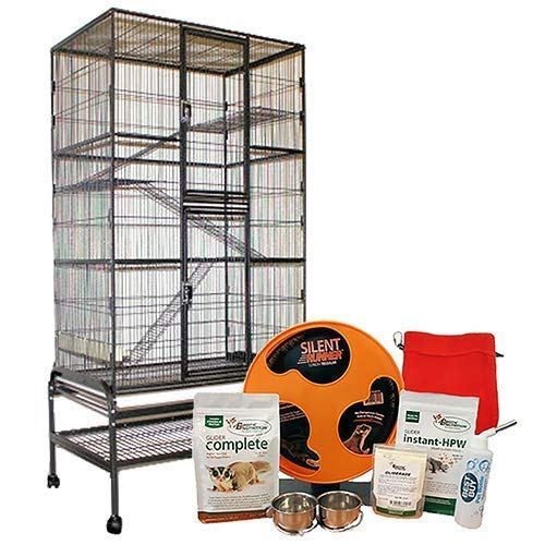 Exotic Nutrition Congo Cage & Starter Package for Sugar Gliders