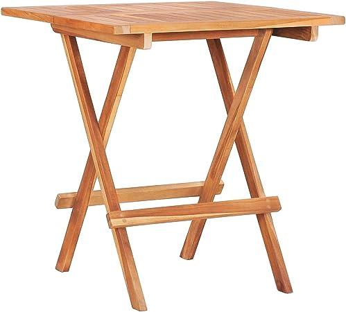 Gartentisch Holz Rund Balkontisch Bistrotisch Garten Tisch