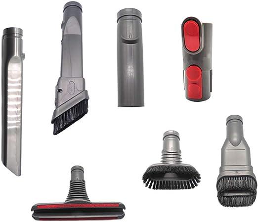 HSKB - Kit de piezas de repuesto para aspiradora Dyson V6 V7 V8 V9 V10, barredora y función de limpieza (7 unidades): Amazon.es: Hogar