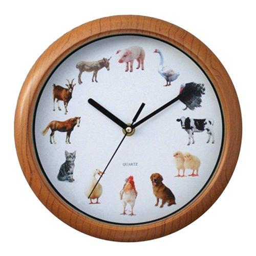 New York Gift Animal Sound Wall Clock