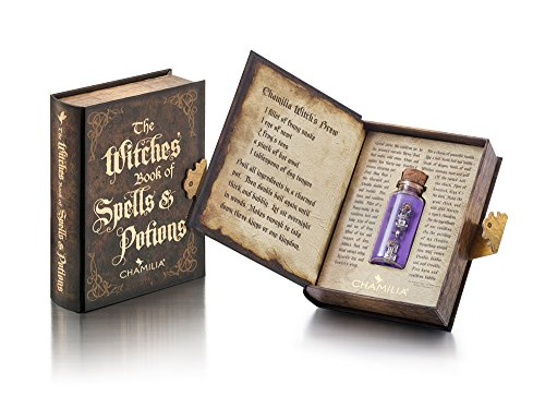 (Authentic Chamilia Sterling Silver, Limited Edition Book of Potions & Spells Charm Gift Set 4011-0739)