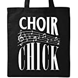 Inktastic - Choir Chick Church Group Singer Tote Bag Black 2f7bd