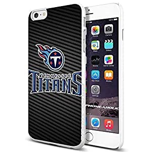 American Football NFL TENNESSEE TITANS Logo, , Cool iPhone 6 Plus (6+ , 5.5 Inch) Smartphone Case Cover Collector iphone TPU Rubber Case White [By PhoneAholic]