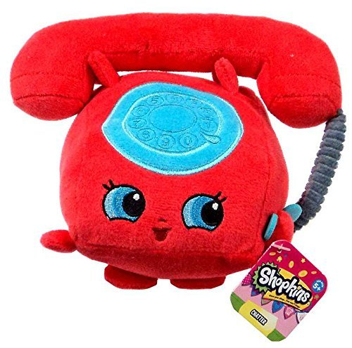 New 6 Inch Trim (Let's Journey into Fashion Shopkins Chatter Plush Toy,)