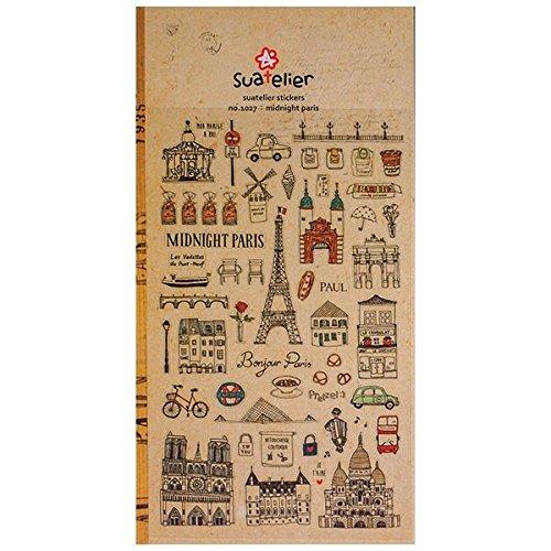 Rayher Stickers Midnight Paris