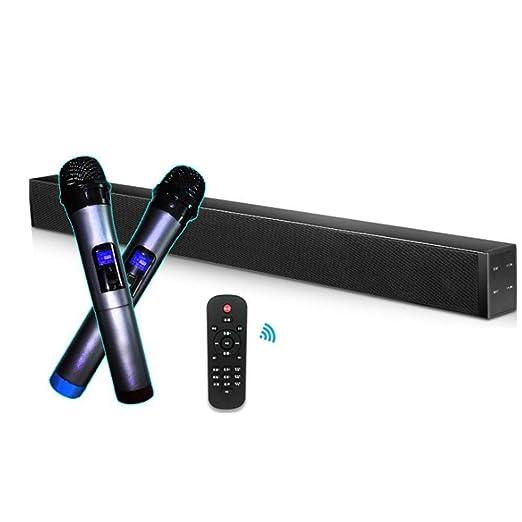 AMZ BCS Soundbar con Wireless Karaoke 60W Wired y Wireless Home ...