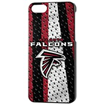 Team Pro Mark Licensed NFL Atlanta Falcons Slim Series Protector Case for Apple iPhone 5/5S - Retail Packaging - Red/White