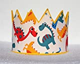 Cute Dinosaur Birthday Crown