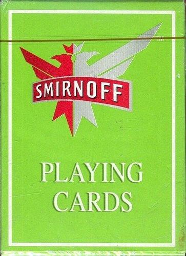 Smirnoff Playing Cards
