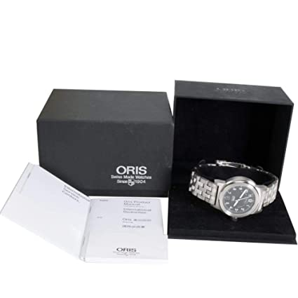 Amazon.com: Oris BC3 Automatic-self-Wind Male Watch 7500 (Certified Pre-Owned): Oris: Watches