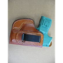 Azula Gun Holsters Sig Sauer 365 P365 9mm IWB In The Waist Band Leather Concealed Carry Holster CCW TAN RH