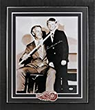 Red Wings Gordie Howe Autographed & Framed 16X20 Photo with Wayne Gretzky - PSA/DNA Authentic