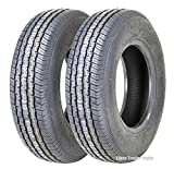 2 New Grand Ride Premium Trailer Tires ST 175/80R13 8PR Load Range D - 11012 ...