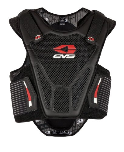 Street Body Armor - EVS Sports 512201-0113 Street Vest (Black, Large/X-Large)