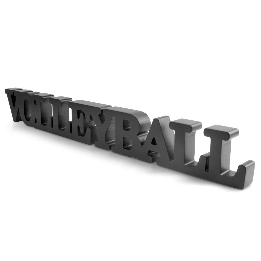 Volleyball Sign /& Decor ChalkTalkSPORTS Volleyball Wood Words
