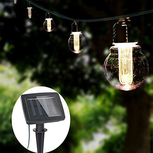 Solar Powered Led String Path Lights - 9