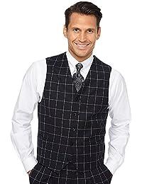 """<span class=""""a-offscreen"""">[Sponsored]</span>Men's Wool Flannel Vest"""