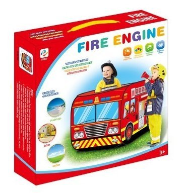 info for 80817 b5c35 Buy Fire Engine Truck Pop Up Play Tent - Foldable Indoor ...